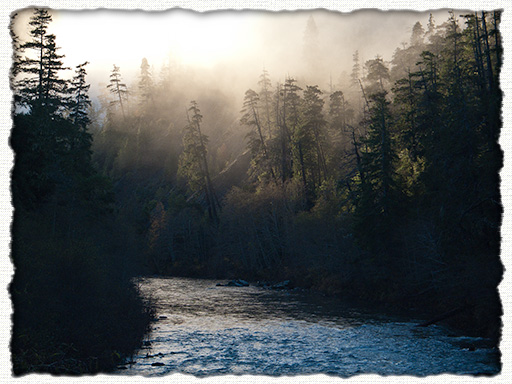 South Fork of the Smith River (from Steven Memorial Bridge) - image courtesy J.M.Renner